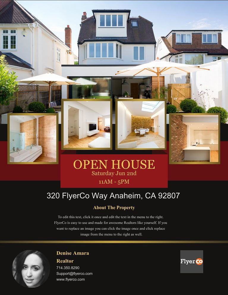 Open House Flyers Real Estate Marketing Blog