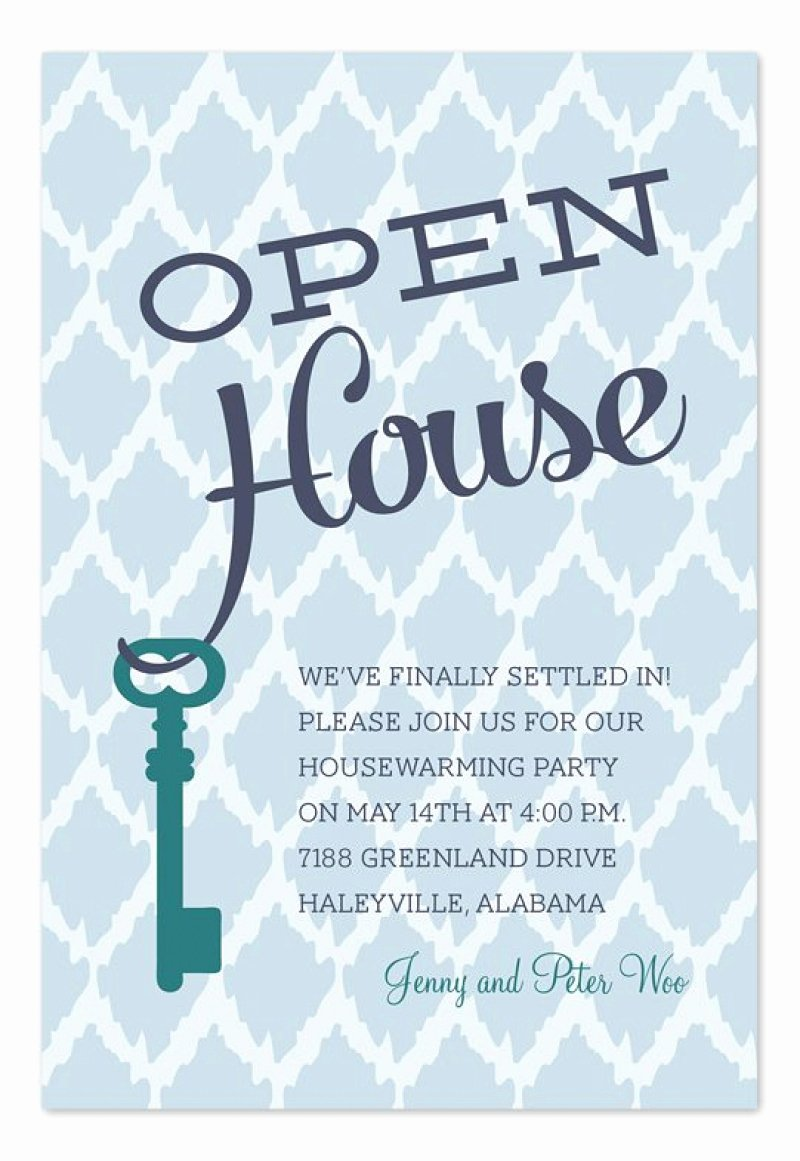 Open House Invitation Template – orderecigsjuicefo