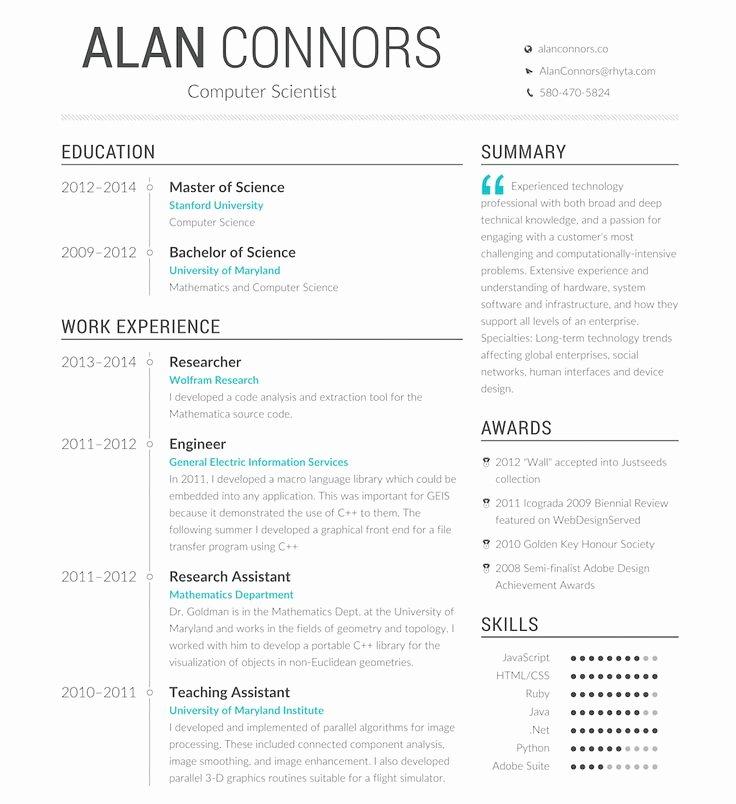 Opensource Resume Generator Profession