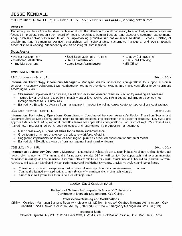 Operations Director Resume Regional Operations Manager
