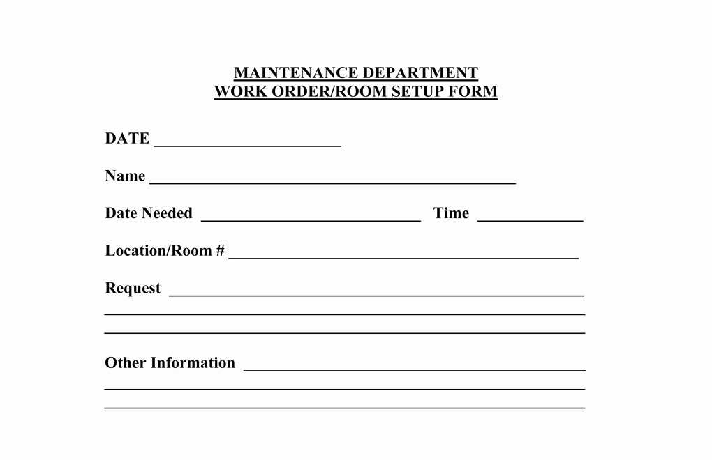 Operations forms