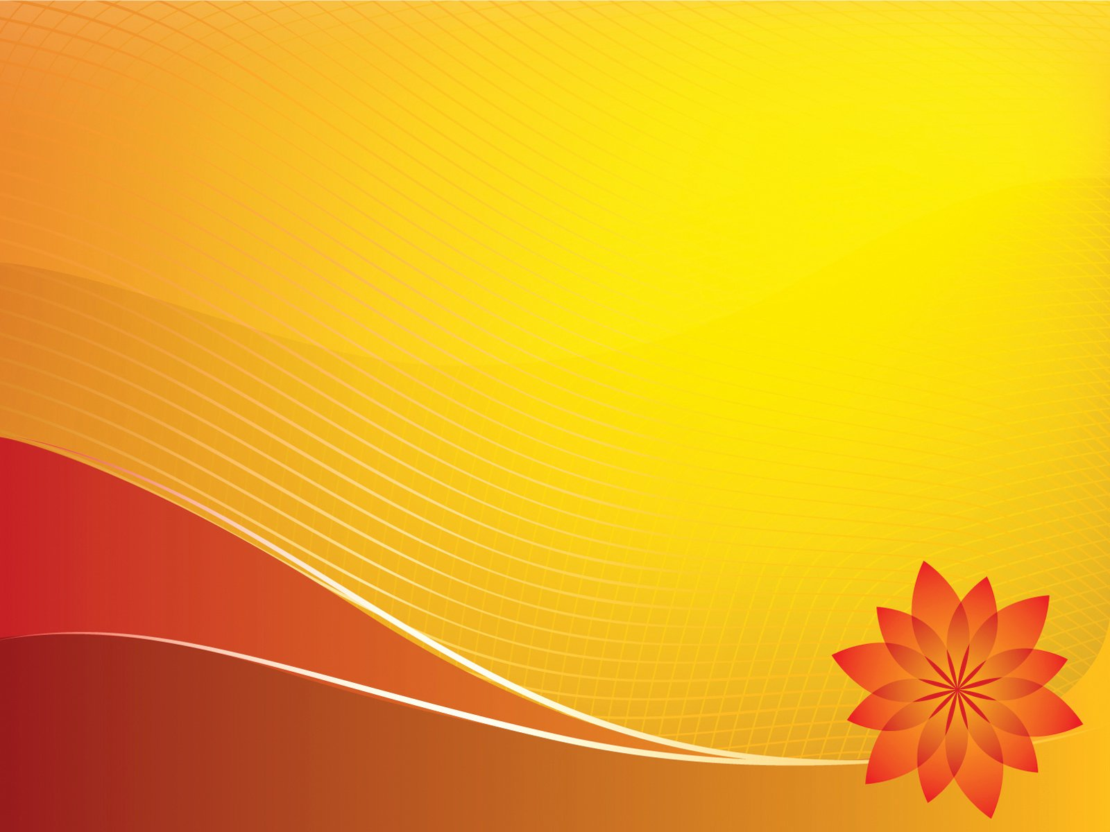 Orange Sun Design Powerpoint Templates Holidays orange