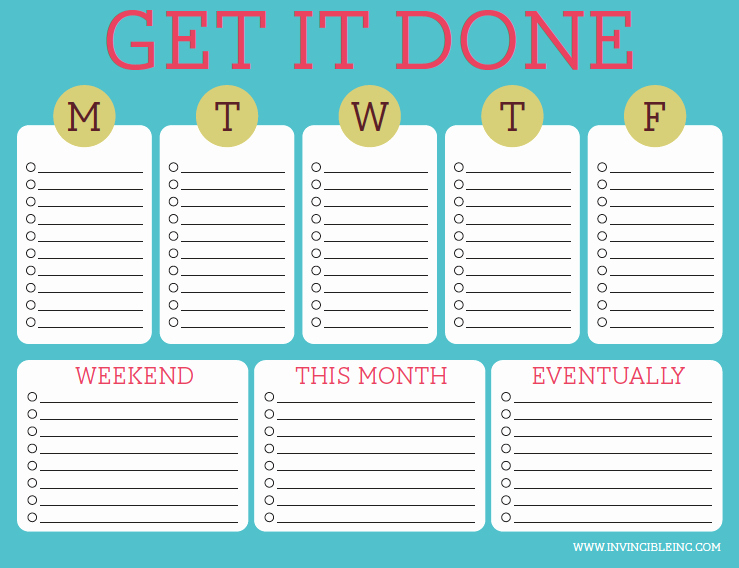Organization and Time Management Part 2 Make A to Do List