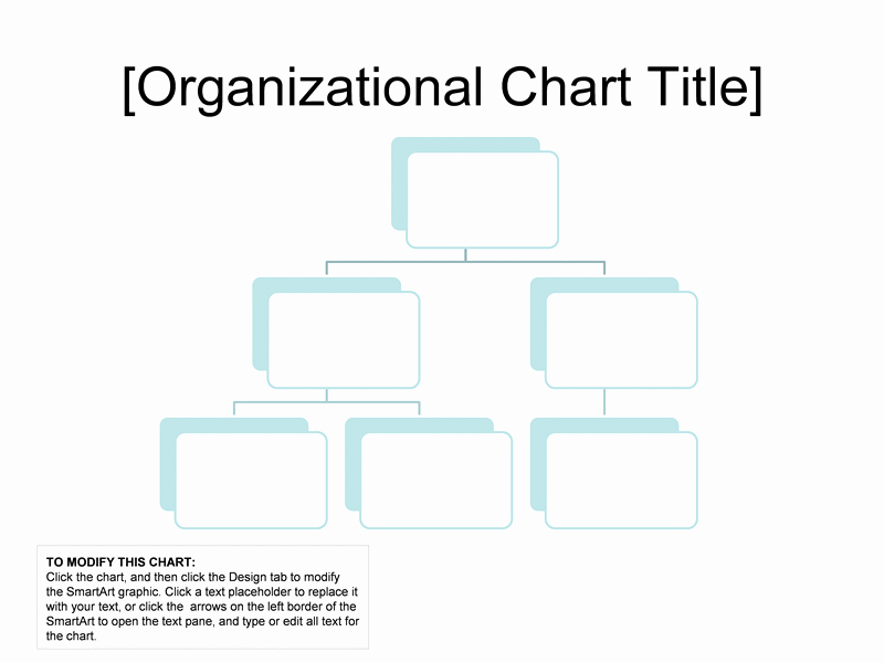 organizational chart simple basic easy l 1628