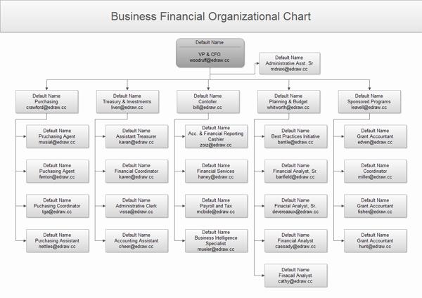Organizational Flow Chart software