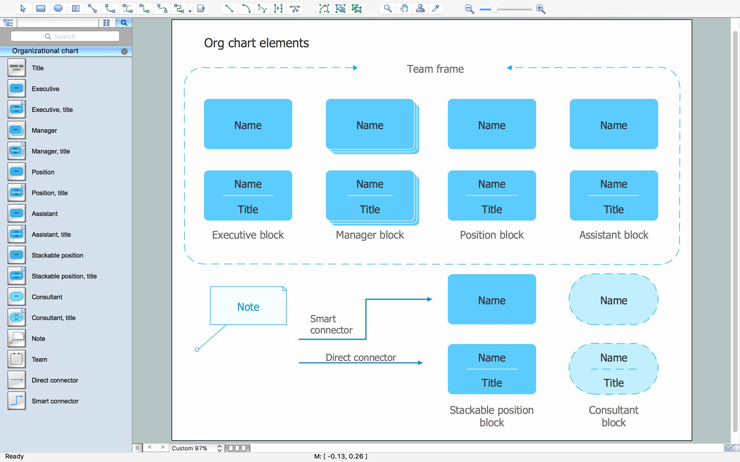 Organizational Flow Chart Template Word
