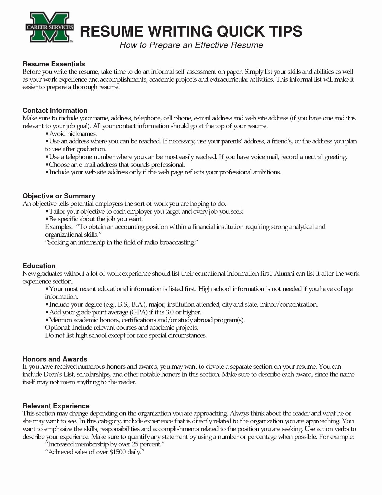 Organizational Skills Resume List Resume Ideas
