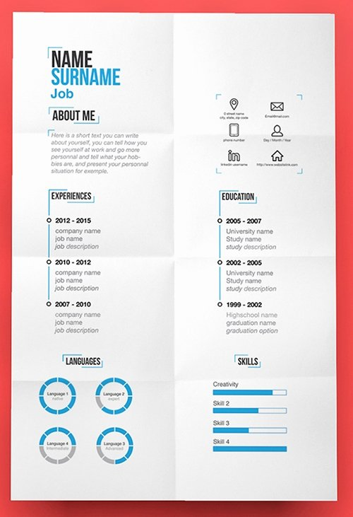 Original Resume Templates Best Resume Gallery