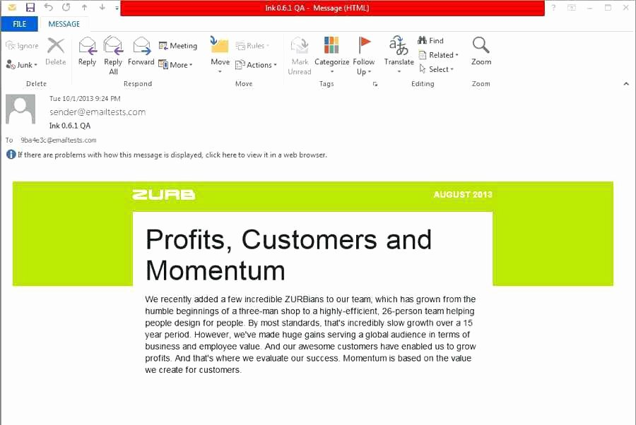 outlook create email template gmail raw