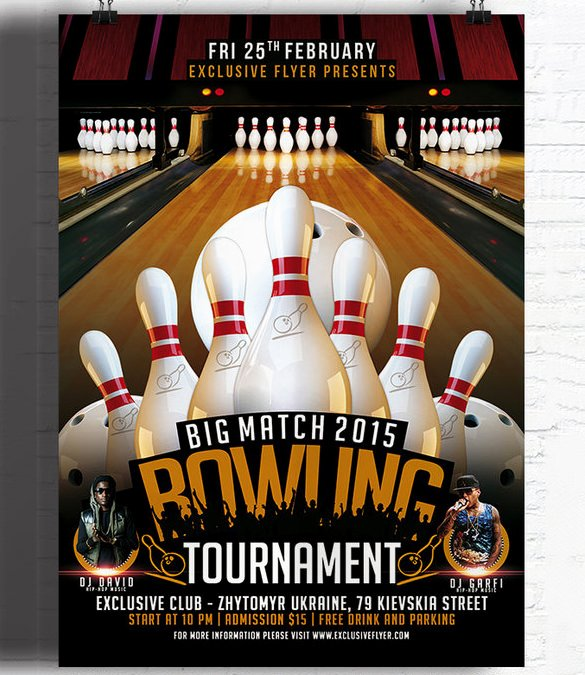 Outstanding Bowling Invitation S Designs Bowling Party