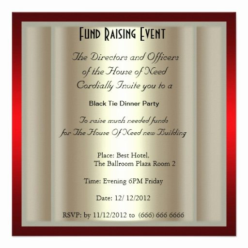 Outstanding formal Dinner Party Invitation Template Given