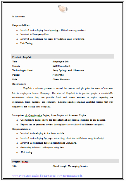 Over Cv and Resume Samples with Free Download Best
