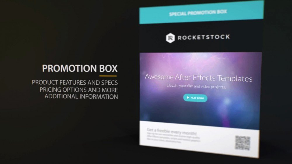 Pact Product Promo after Effects Template