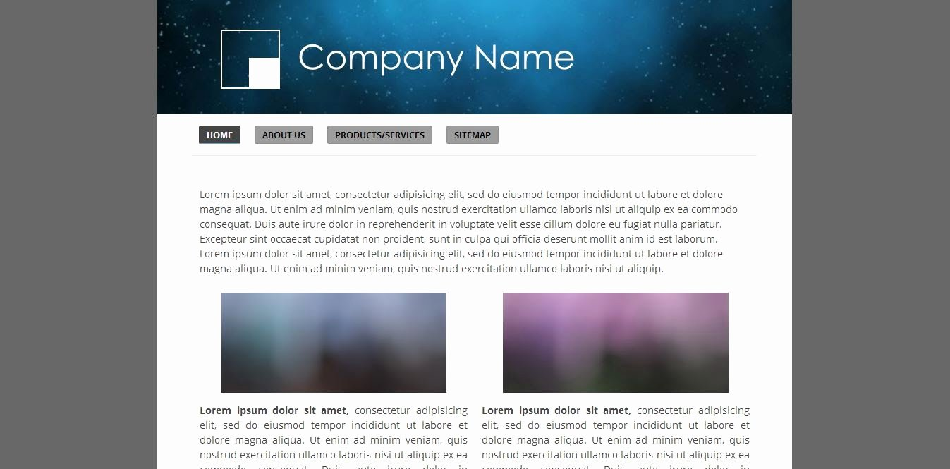 Page 2 Free Website Templates