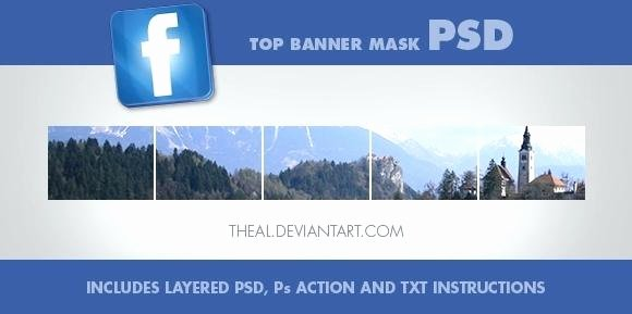 Page Banner Shop Template Cover Size