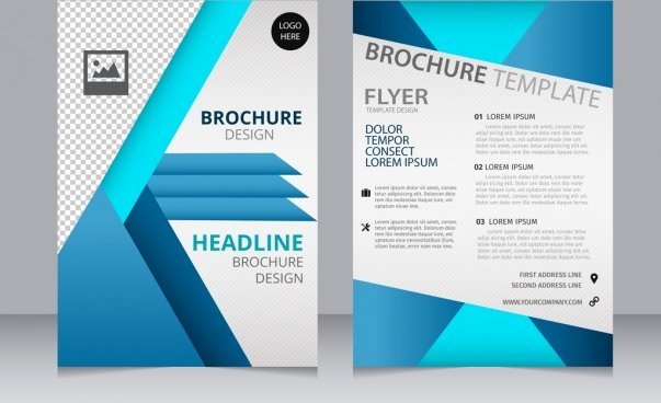 Pages Template Brochure Csoforumfo