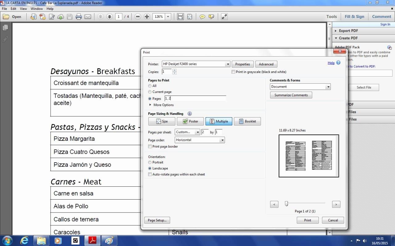 Pamphlet Template Google Docs