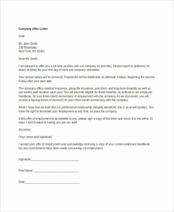Pany Fer Letter Template 10 Free Word Pdf format