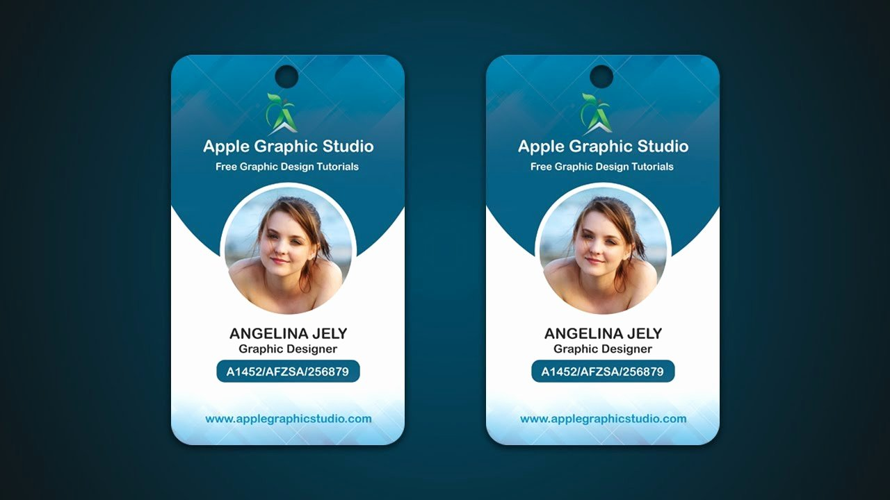 Pany Id Card Design Template Pany Employee Identity