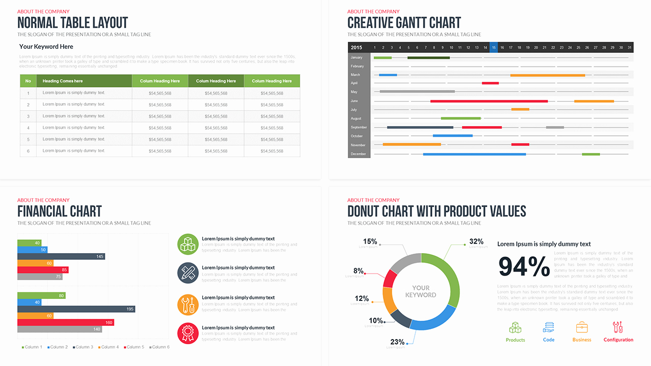 Pany Profile Free Powerpoint Template