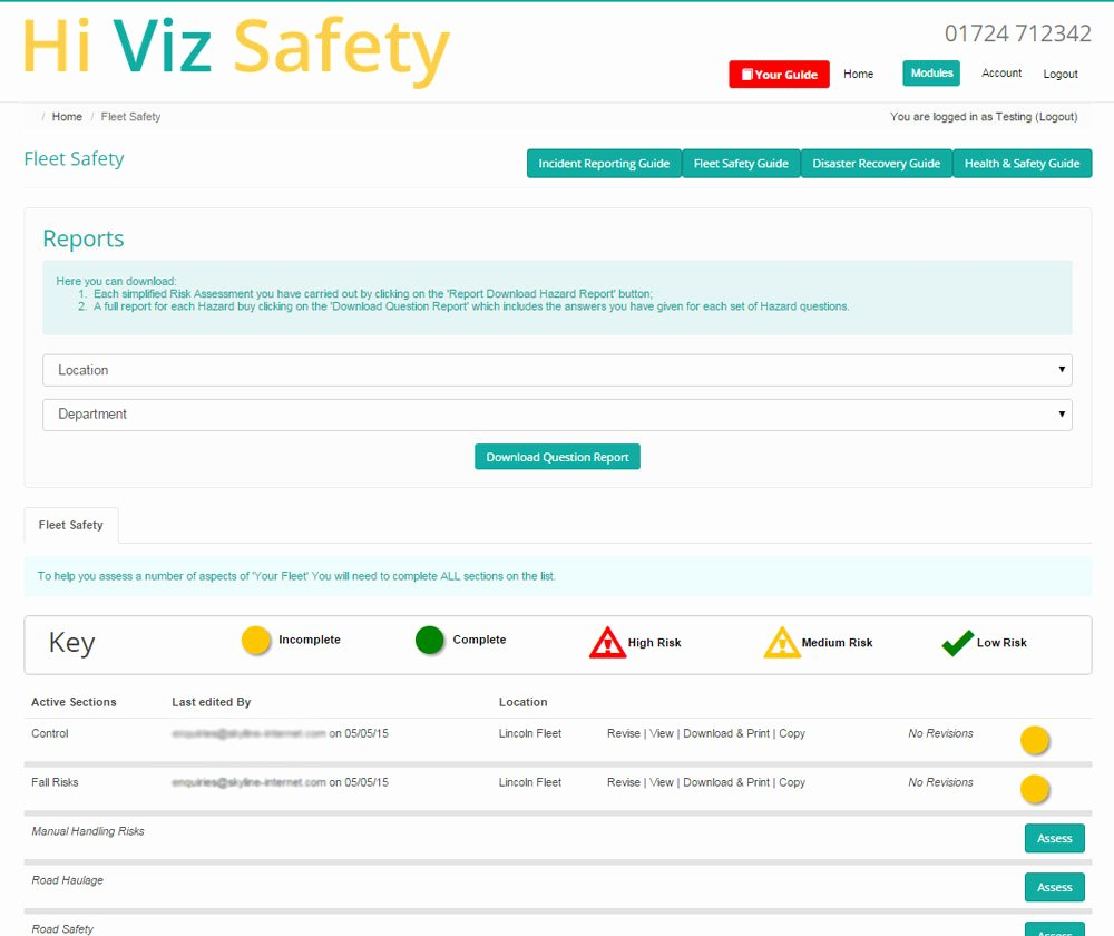 Pany Vehicle Policy Templates & Safety Hiviz