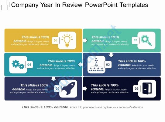 Pany Year In Review Powerpoint Templates