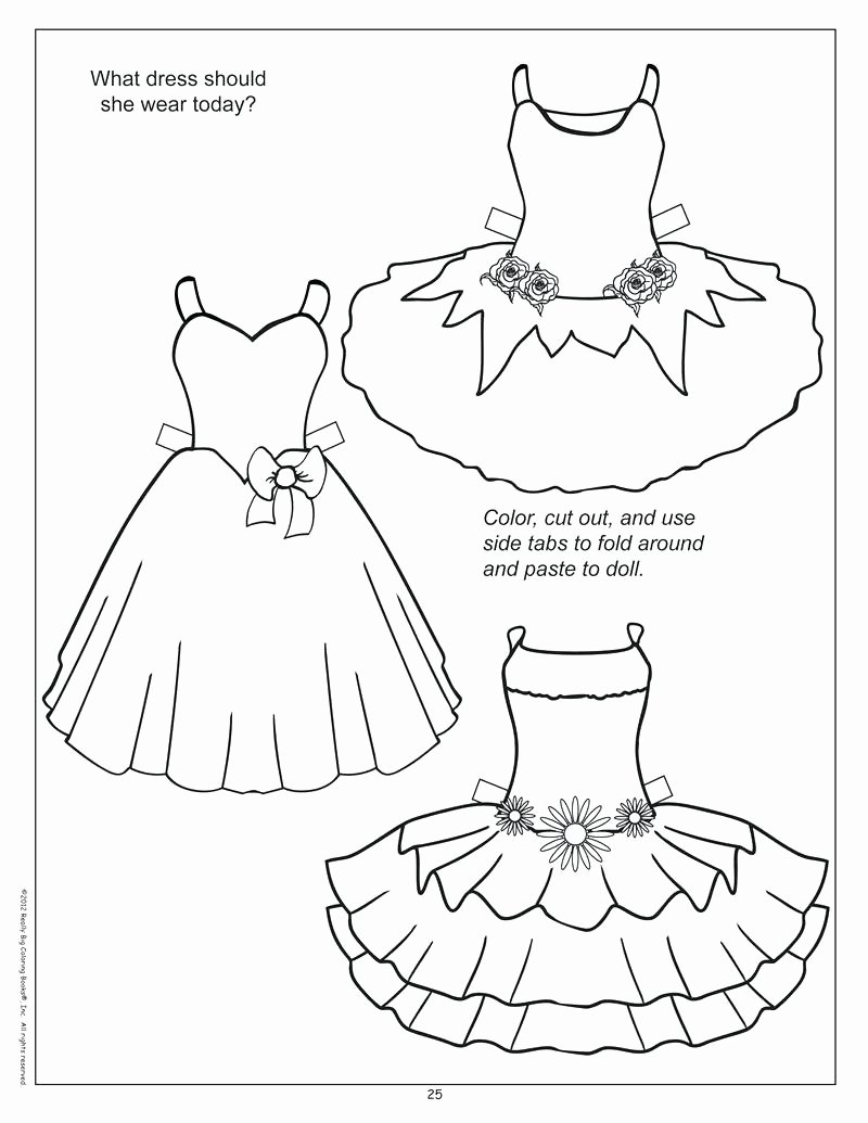 Paper Doll Clothes Templates Idealstalist