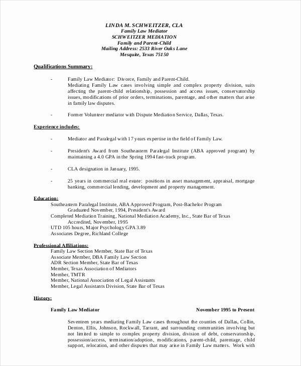Paralegal Resumes F Resume