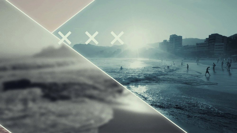 Partition Flashy Urban Slideshow after Effects Template