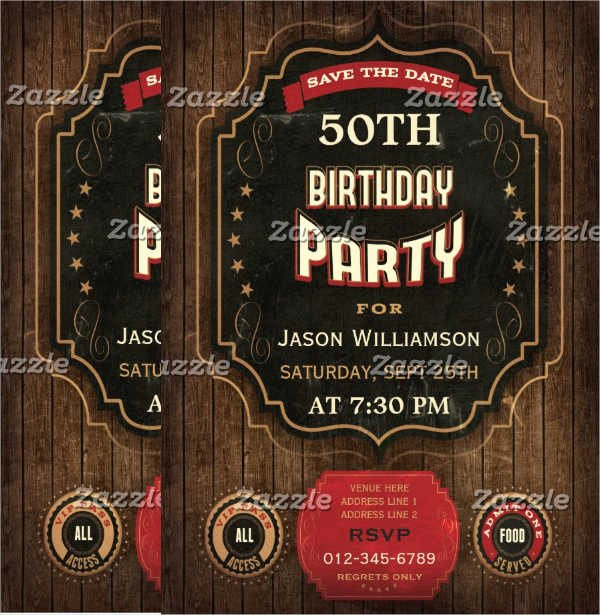 Party Flyer Examples