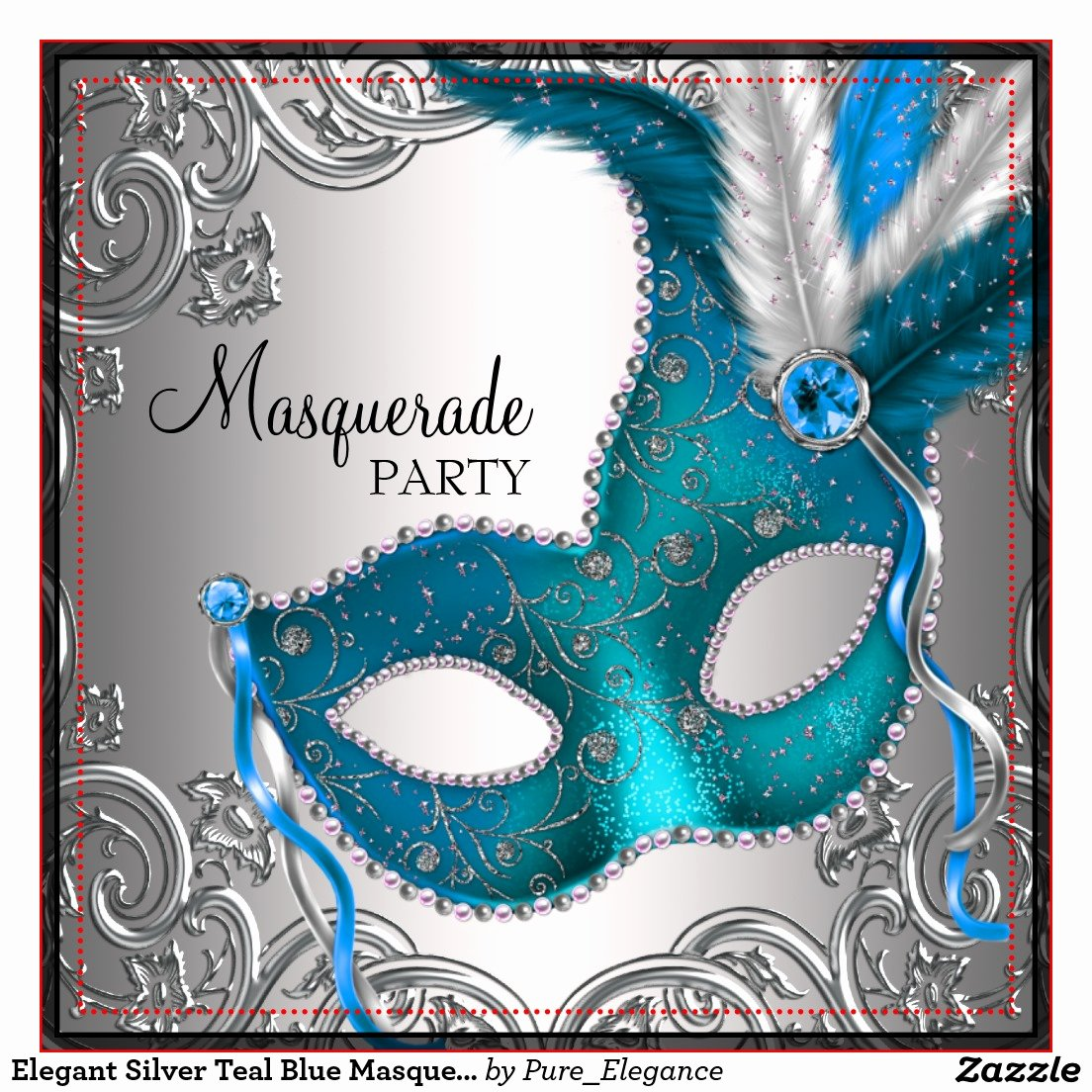 Party Invitations 10 Elegant Masquerade Party Invitations
