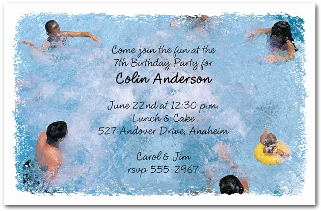 Party Invitations Very Best Pool Party Invites Cool