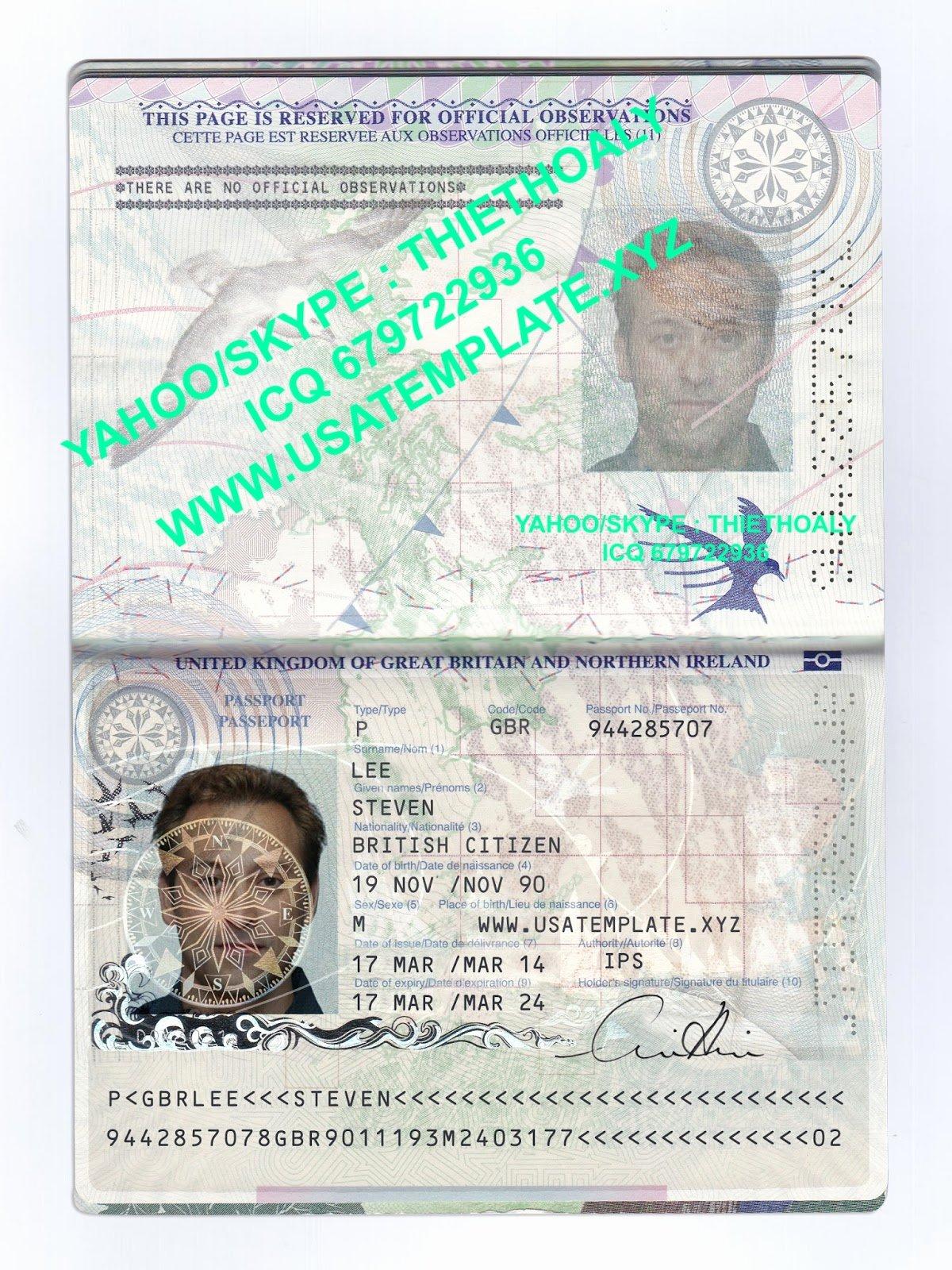 Passport Psd Images Usseek