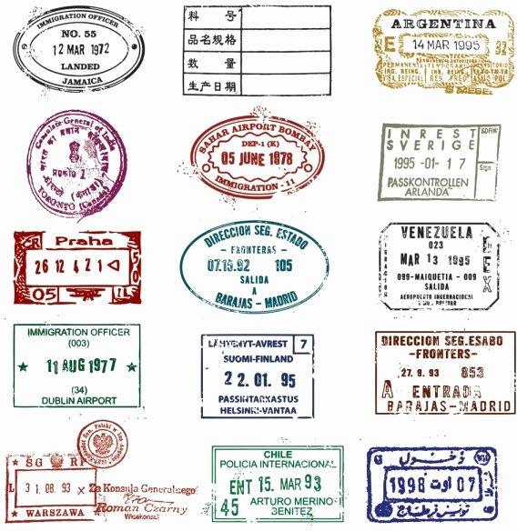 Passport Template Psd