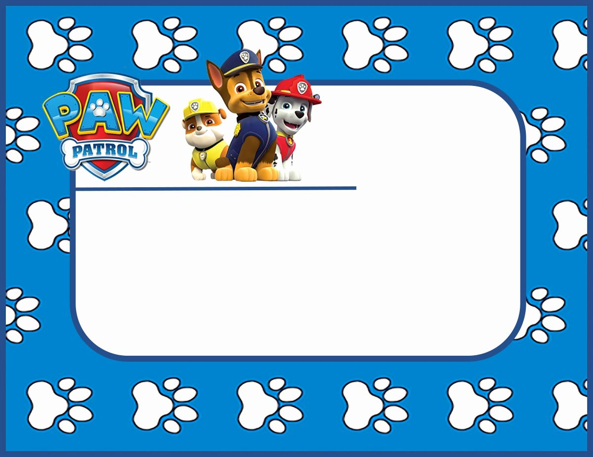 Paw Patrol Templates Choice Image Template Design Ideas