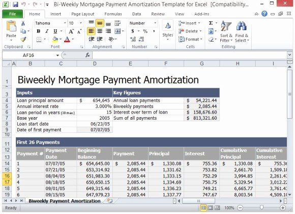 Payment Plan Template Excel
