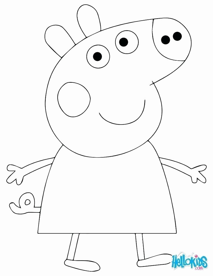 Peppa Pig Cake Template Printable – Skincense