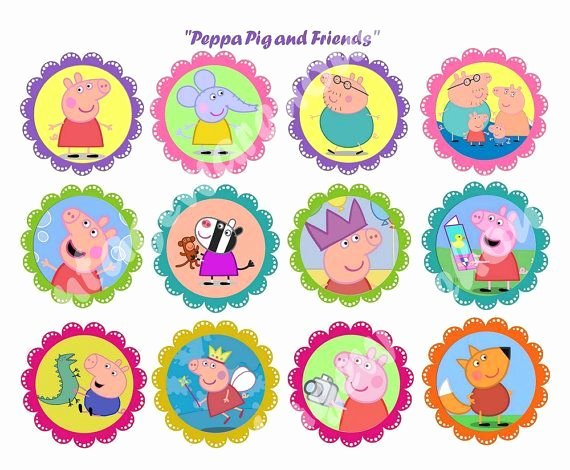 Peppa Pig Printable Stickers Peppa Pig Party
