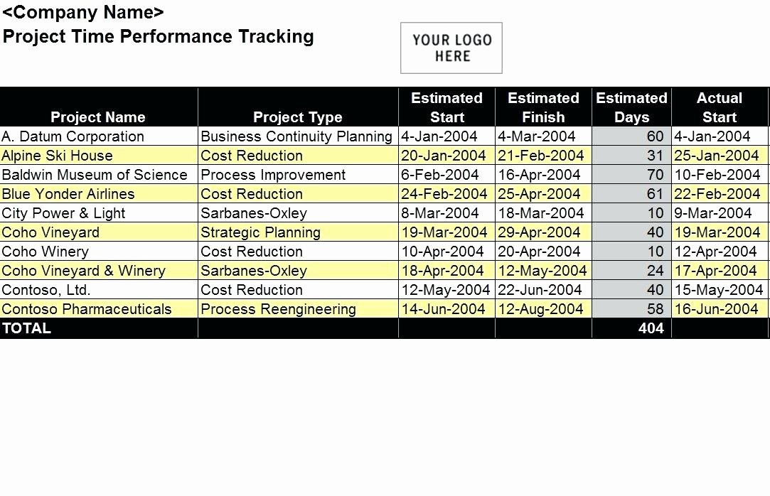 Performance Tracking Excel Template Exercise Performance