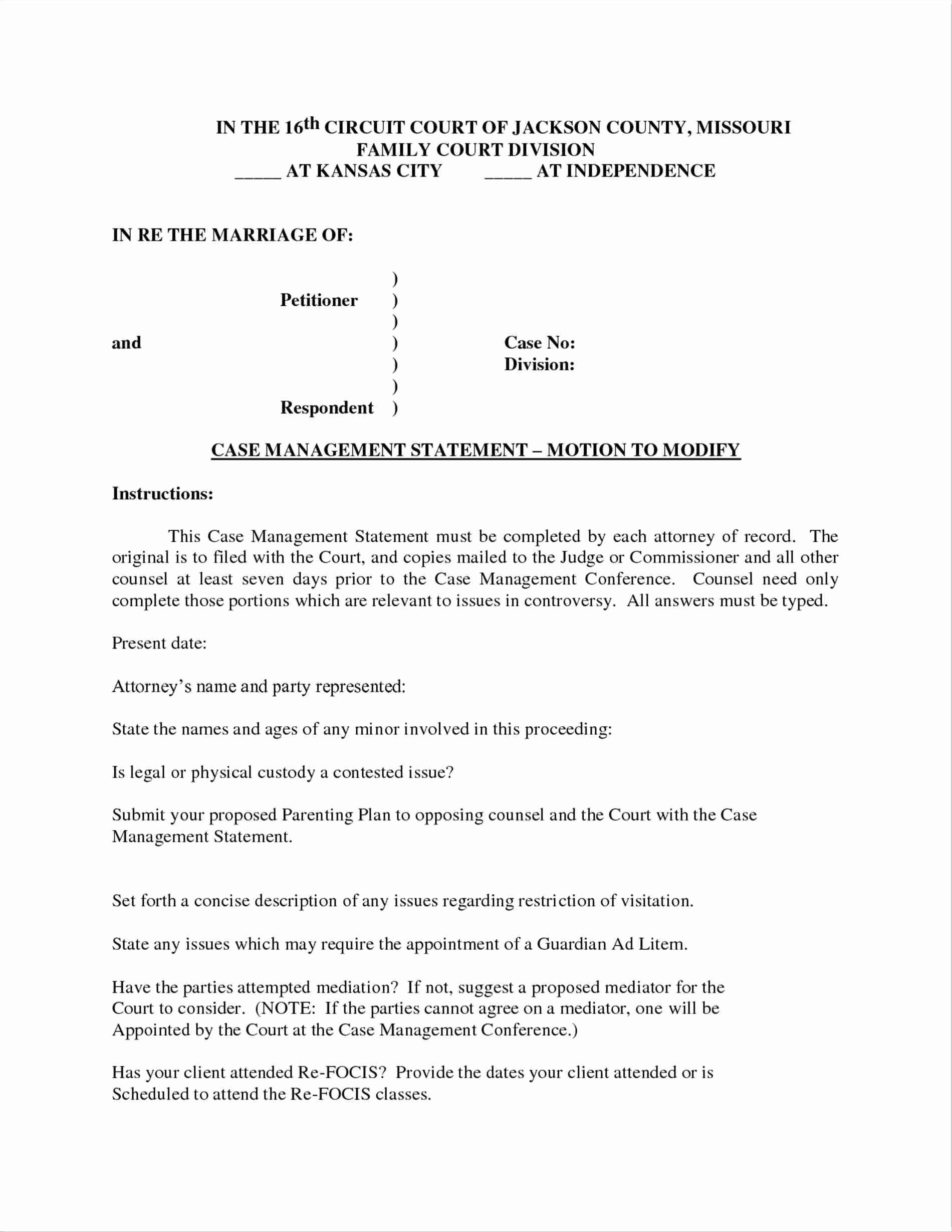 Permanent Guardianship Letter Template Cv Templates 15