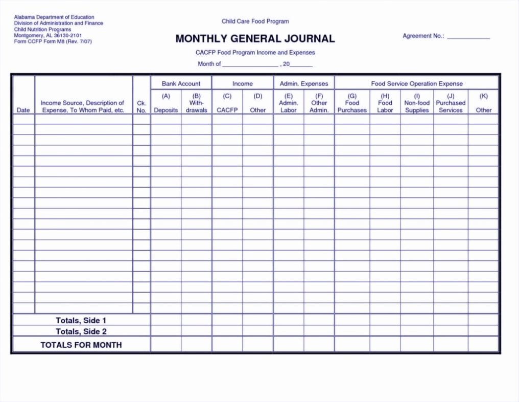 Personal & Small Business Balance Sheet Template Excel