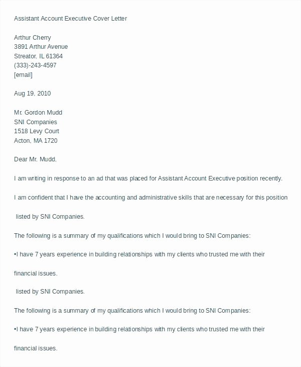 Personal assistant Cover Letter – Bezholesterol