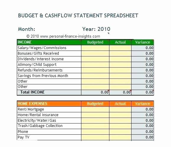 Personal Financial Plan Template Excel – Echotrailers