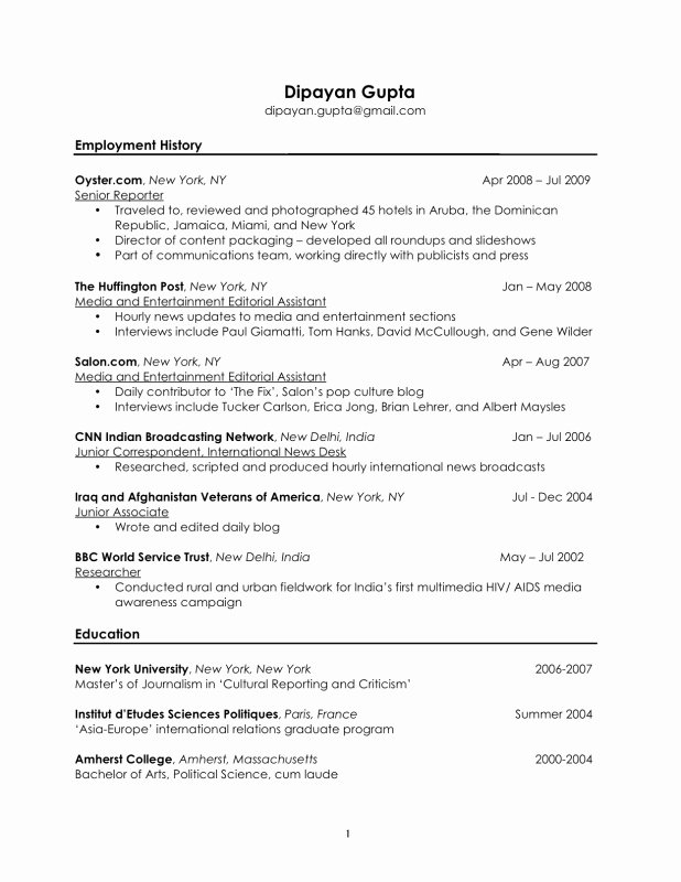 Personal Hobbies and Interests Resume – Job Resume Example