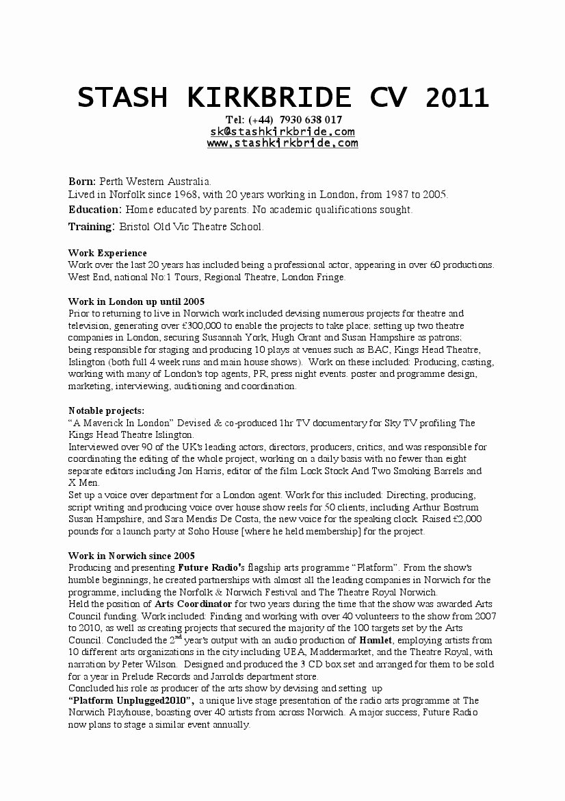 Personal Skills A Resume – Perfect Resume format