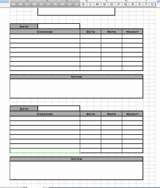 Personal Trainer Workout Template Eoua Blog