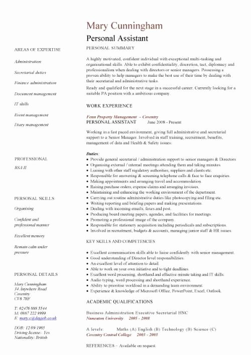 Personal Traits Resume Best Resume Gallery