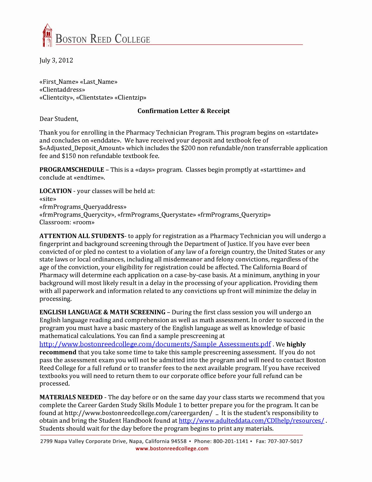 Pharmacy Technician Letter format Samplebusinessresume