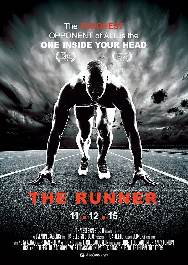 Photoshop Movie Poster Psd Files the Runner Movie Poster