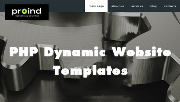 Php Dynamic Website Templates & themes